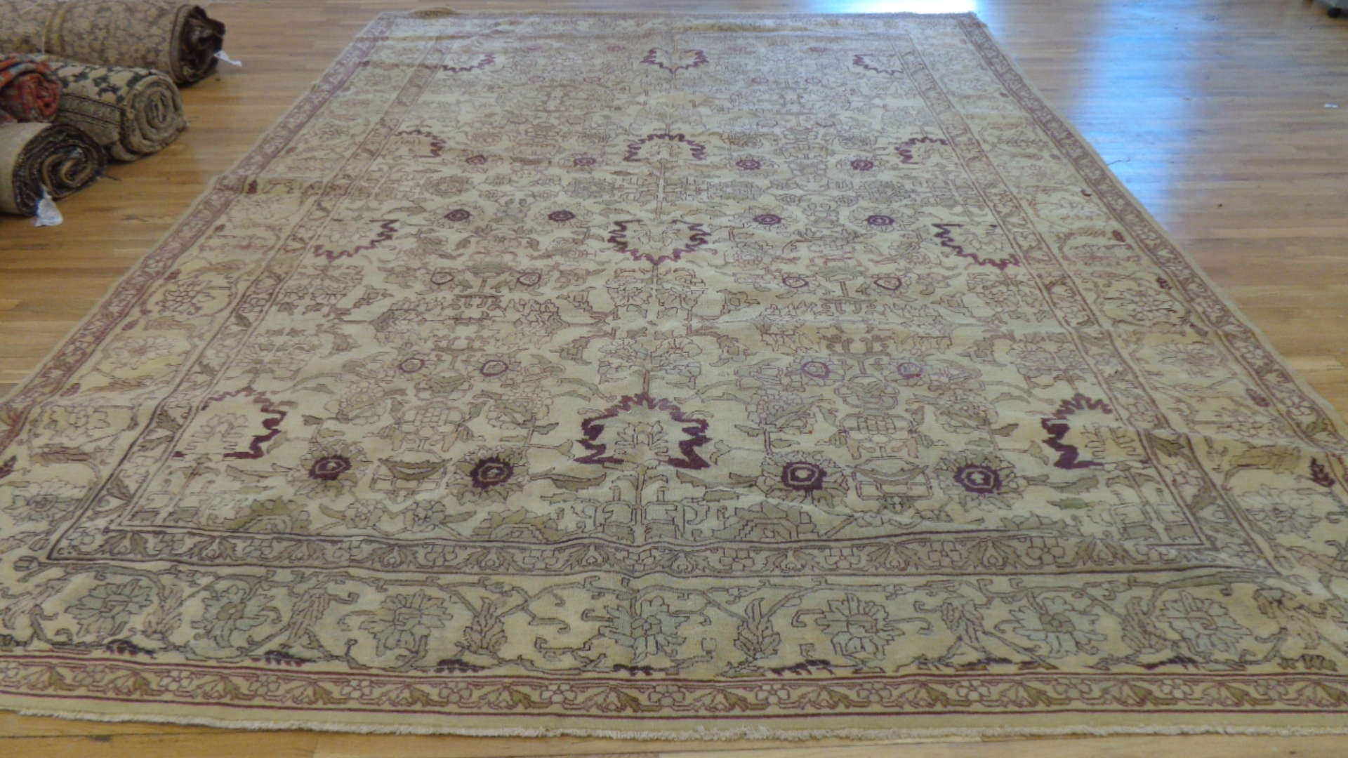 Antique India Agra Carpet | Circa 1910