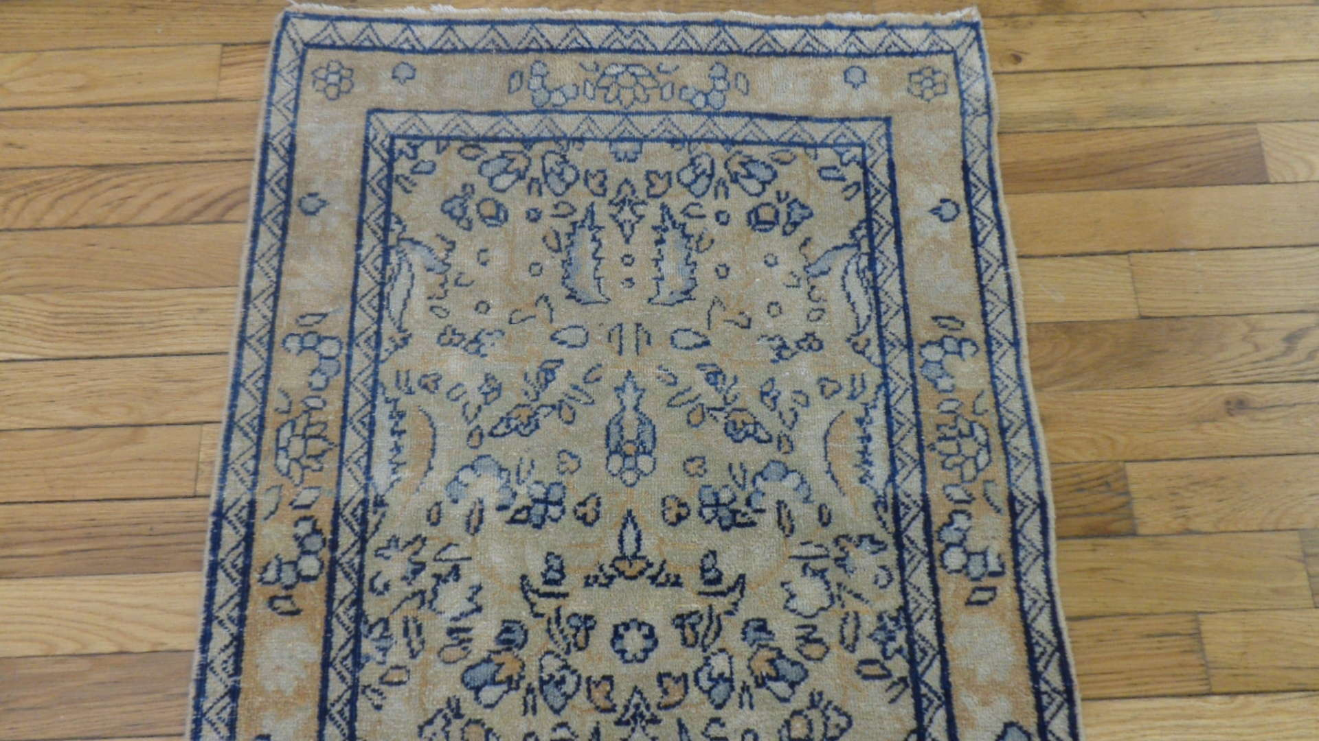24759 persian kirman hall runner 2,1 x 20-1
