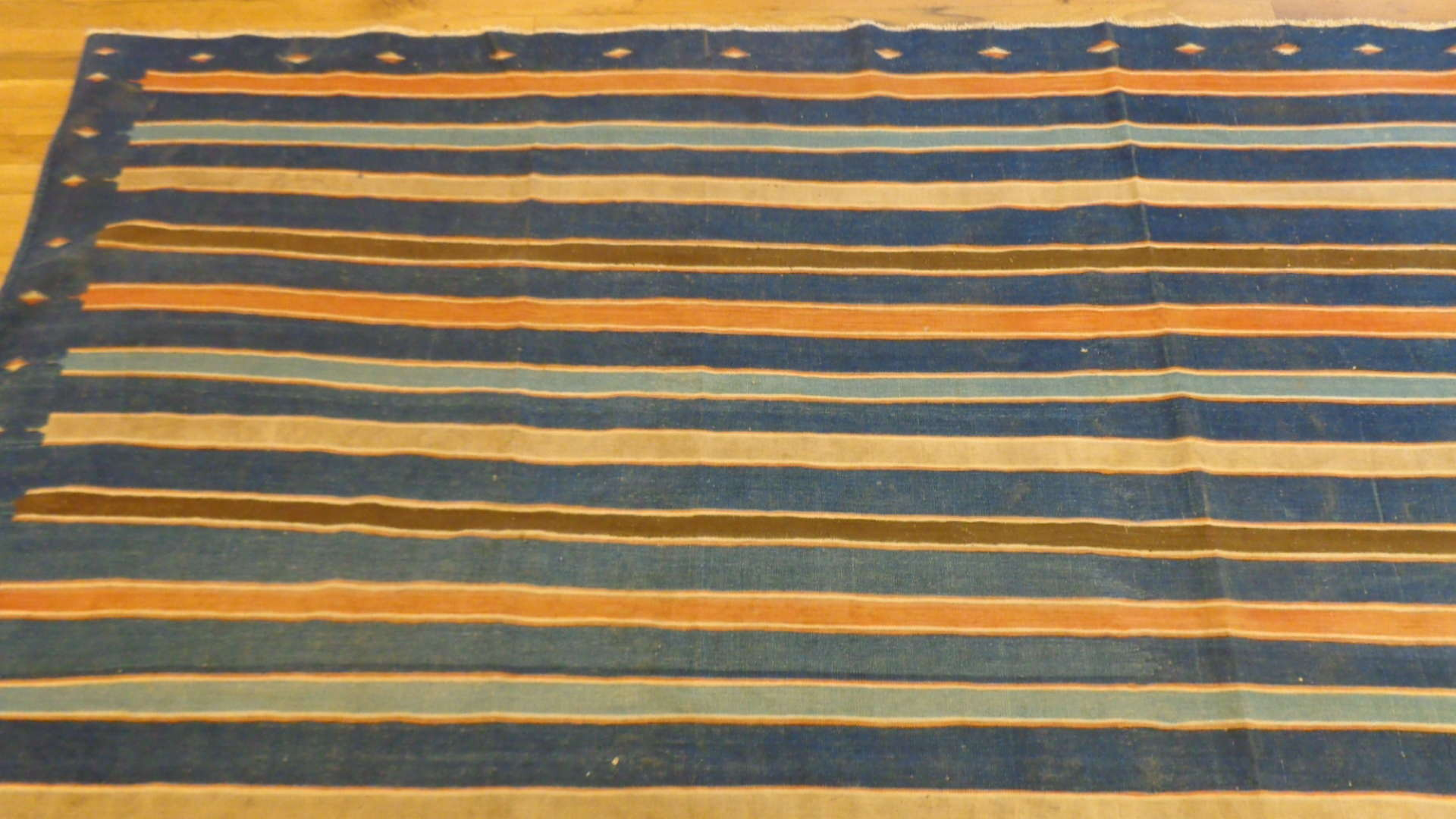 24761 antique caucasian kilim rug 10,10 x 14,8-1