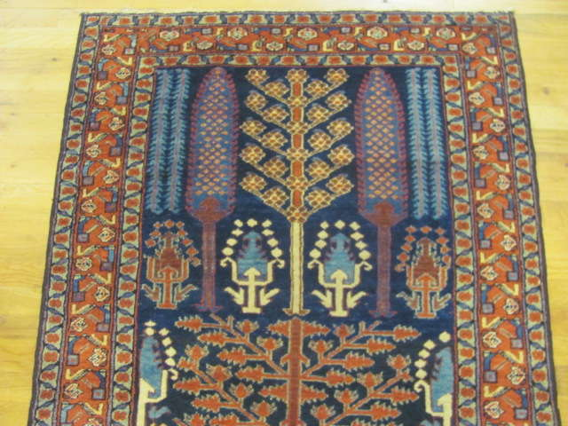 24786 antique persian kurdish runner 3,6 x 12,6-1