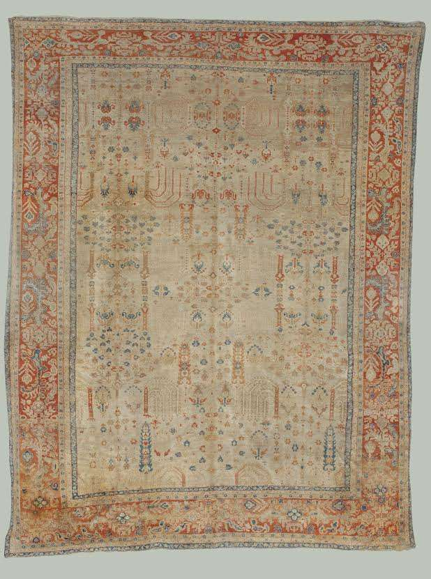Sultanabad Rug | Persia | Antique 1880s