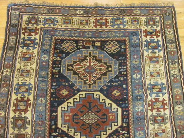 24802 antique caucasian shirvan rug 3,1x4,5-1