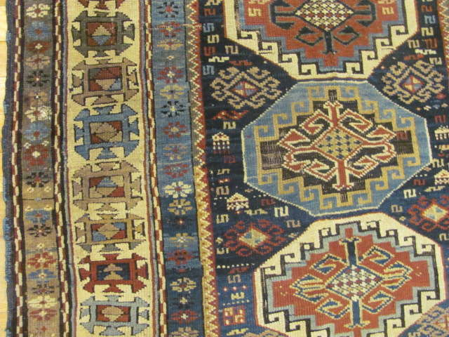 24802 antique caucasian shirvan rug 3,1x4,5-2
