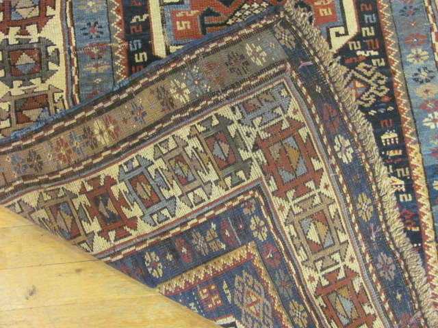 24802 antique caucasian shirvan rug 3,1x4,5-3