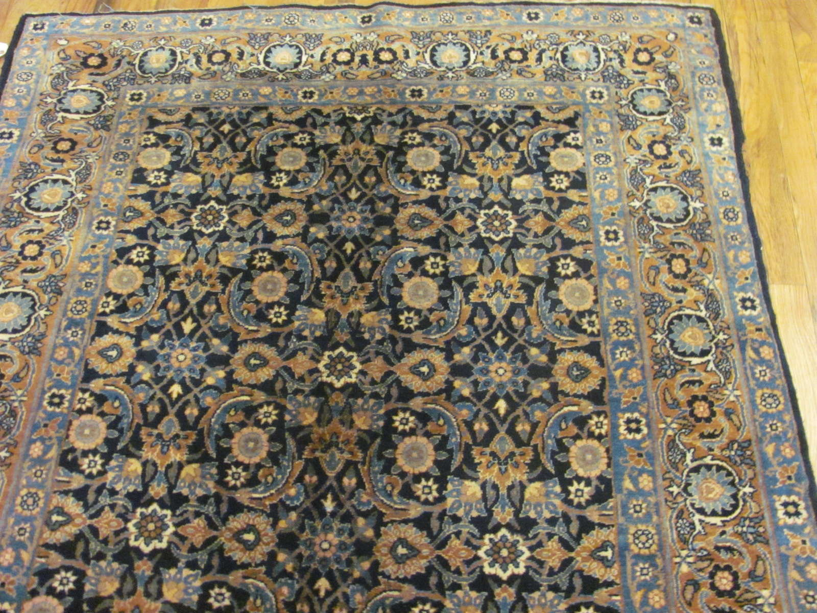 24826 persian kirman yazd rug 4,5x7-1