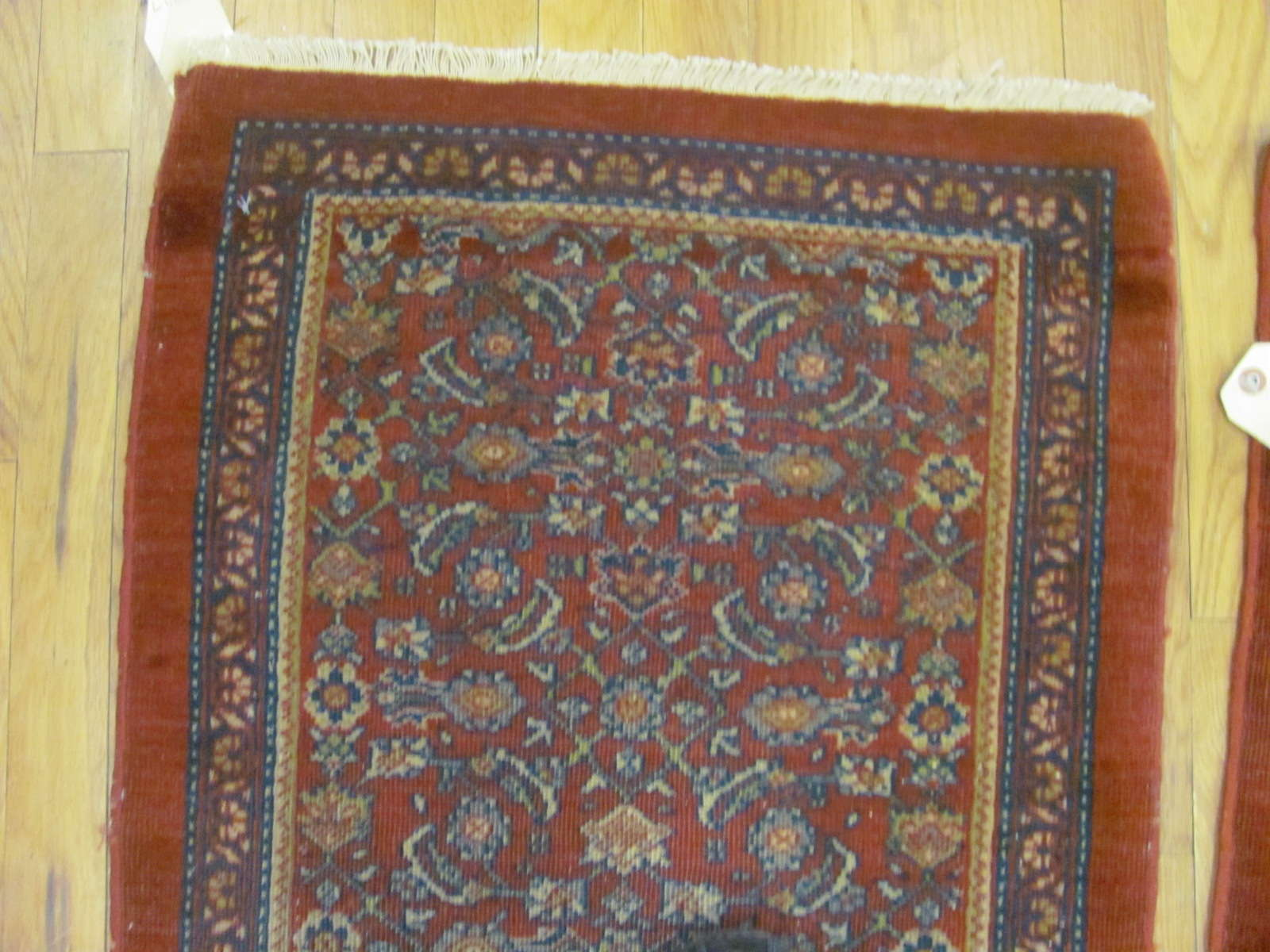 24831 a pair of antique persian mahal rugs 2 x 3 each-2