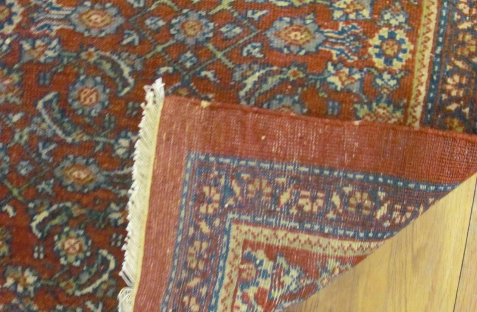 24831 a pair of antique persian mahal rugs 2 x 3 each-3