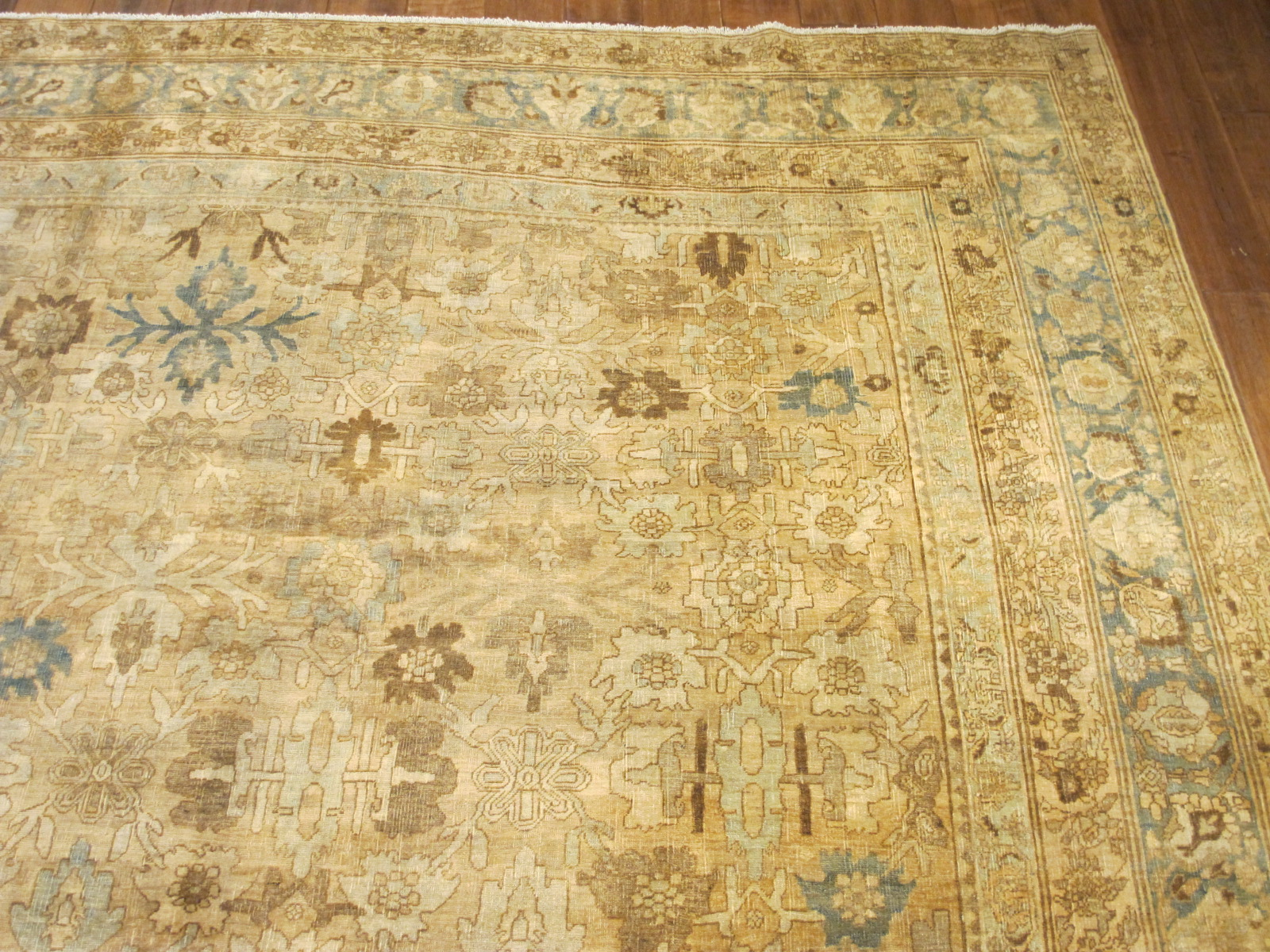 24838 antique Persian Bidjar rug 10,2 x 13,7 (2)