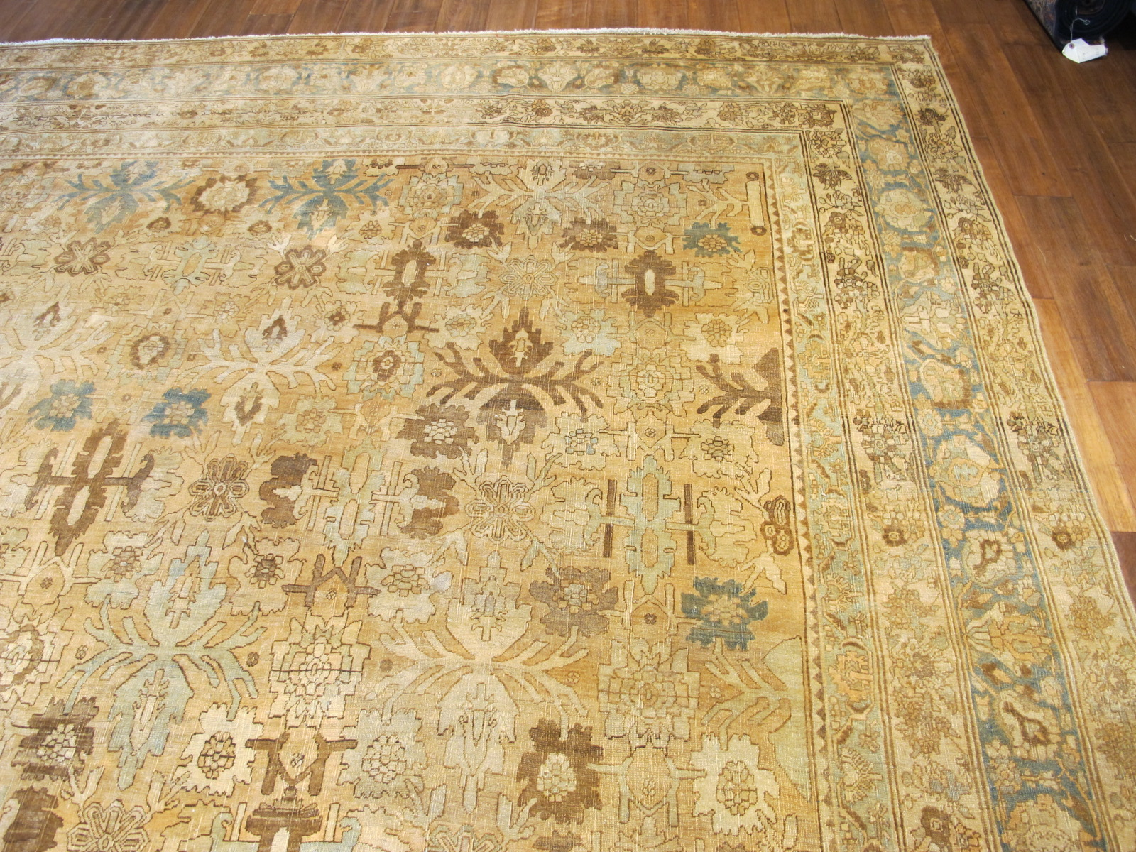 24838 antique Persian Bidjar rug 10,2 x 13,7 (5)