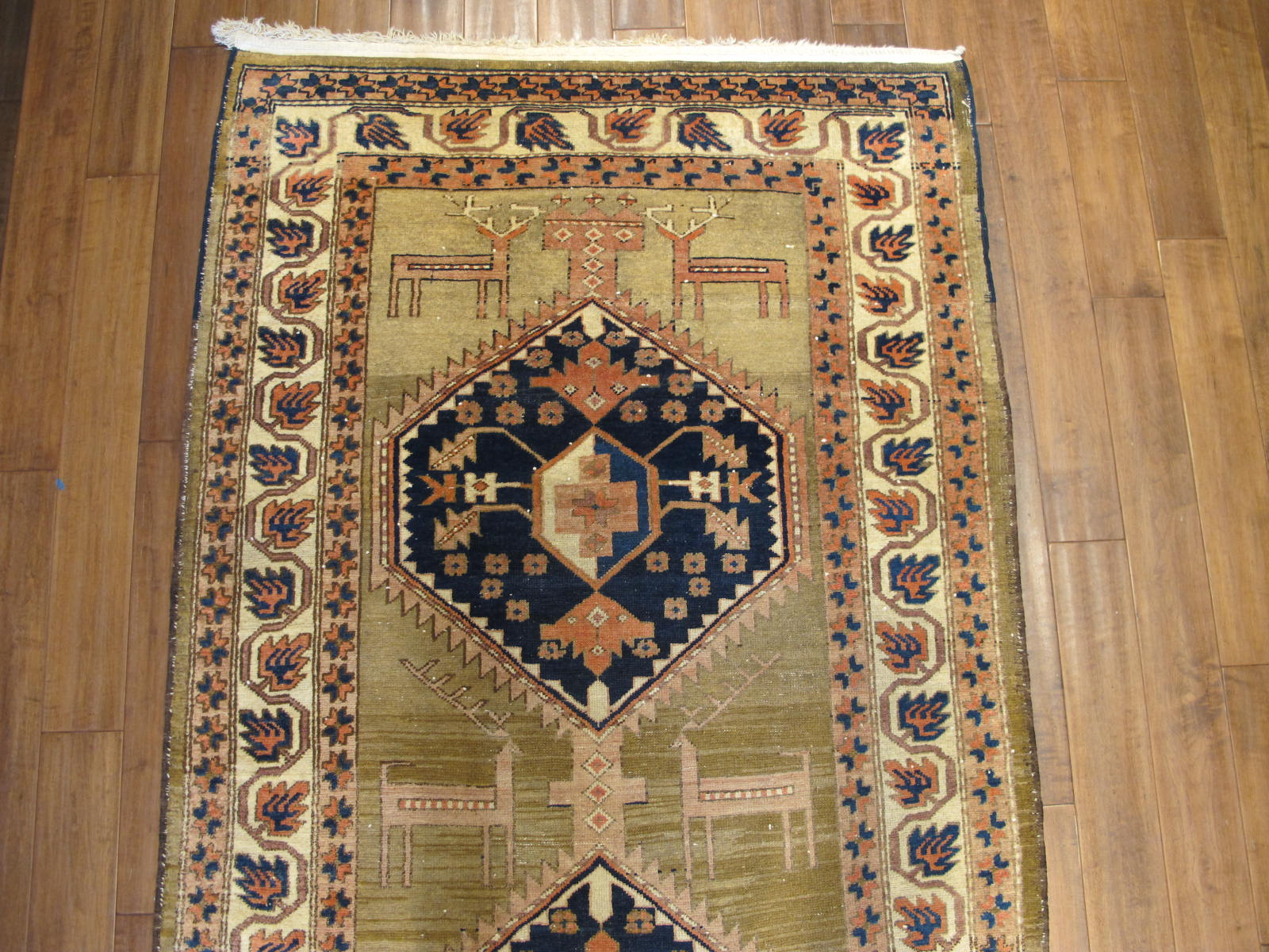 23099 antique persian kurdish rug 4,6 x 14 (2)