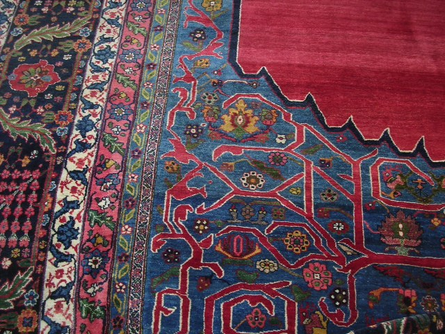 23657 antique persian bidjar rug 15,6 x 26 (1)