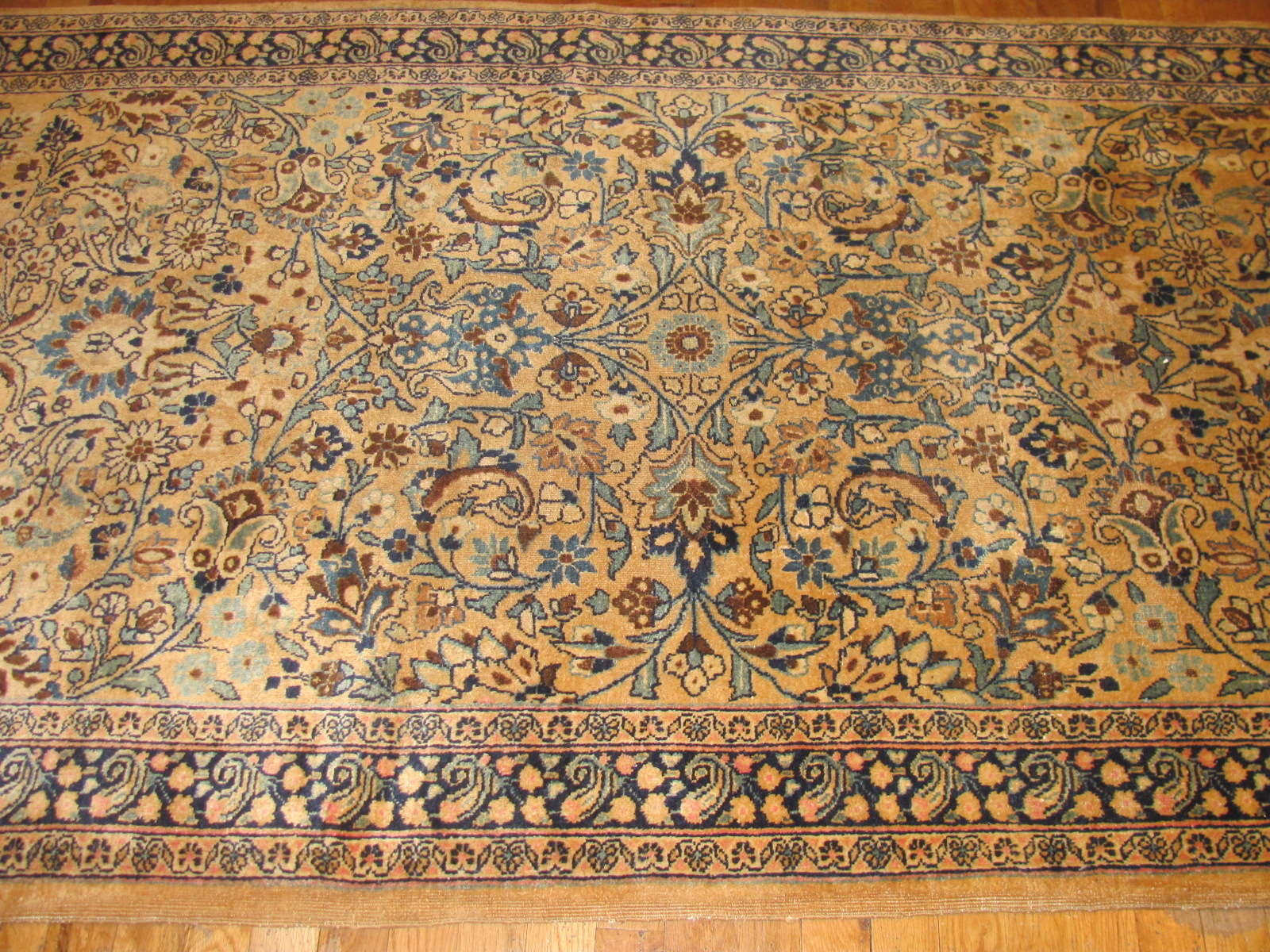 24849 antique persian mashad runner 3,10 x 16-2