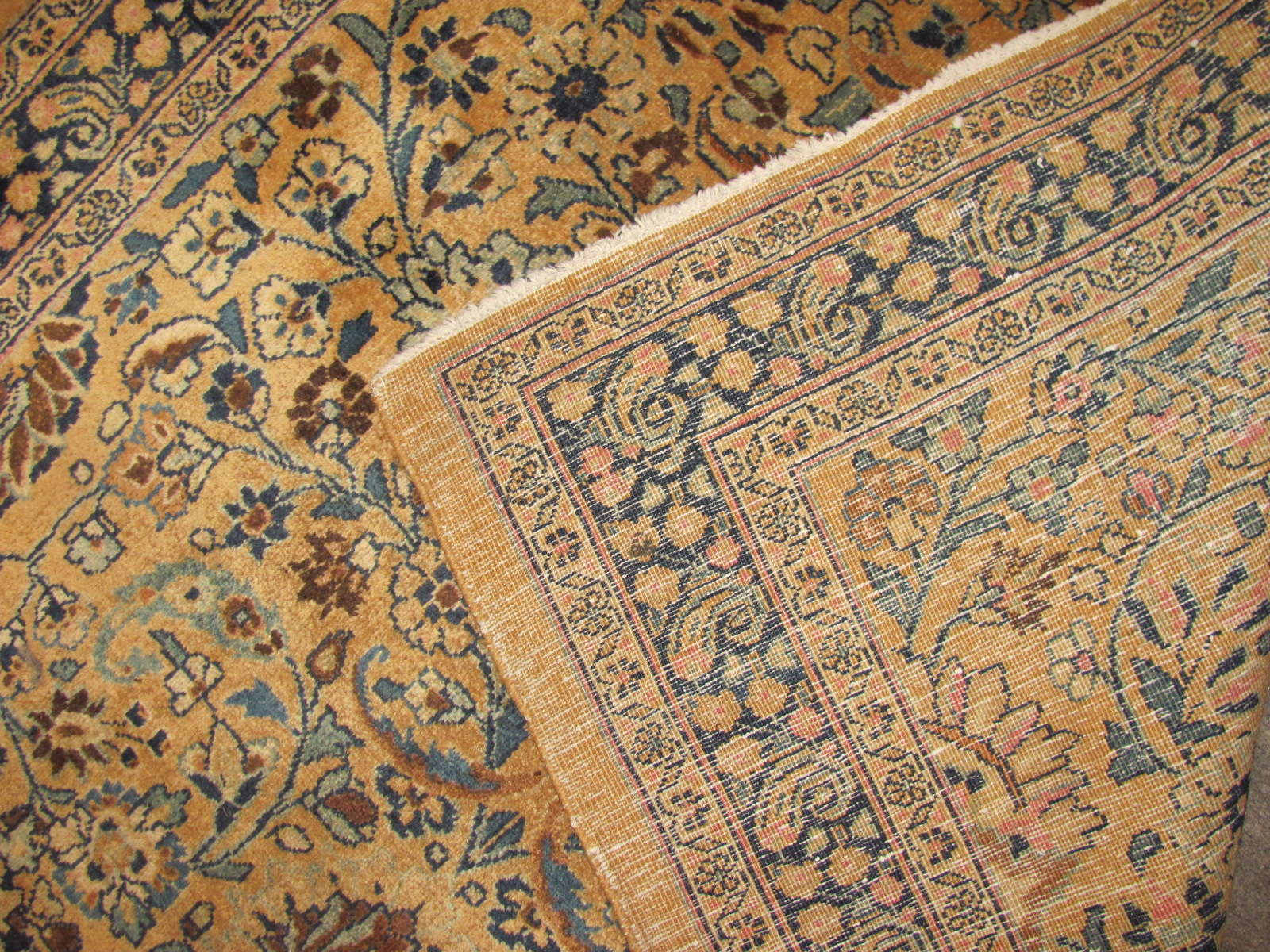 24849 antique persian mashad runner 3,10 x 16-3