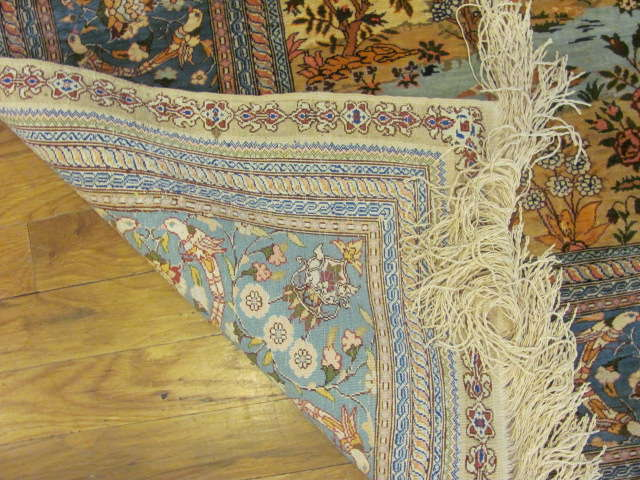24860 turkish hereke rug 3,6x4-3