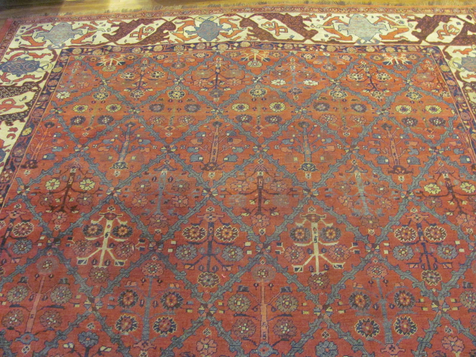 24868 antique persian bidjar rug 7,8x10,6-1