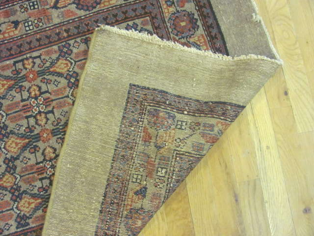 24886 antique persian hamadan camel hair runner 3,4x16,5-3