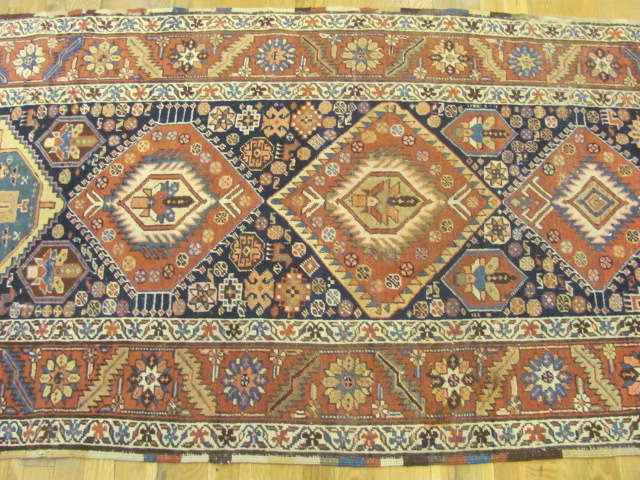 24890 antique northwest persian runner 3,5x15-2