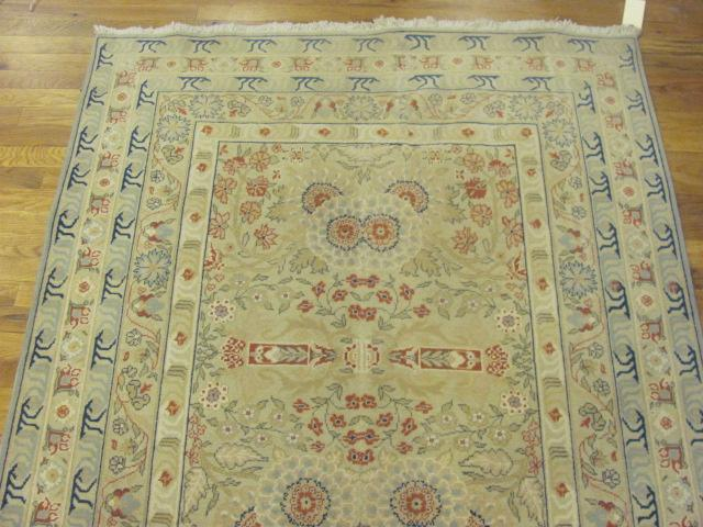 24921 contemporary indian hall runner 4,6 x 15 -1