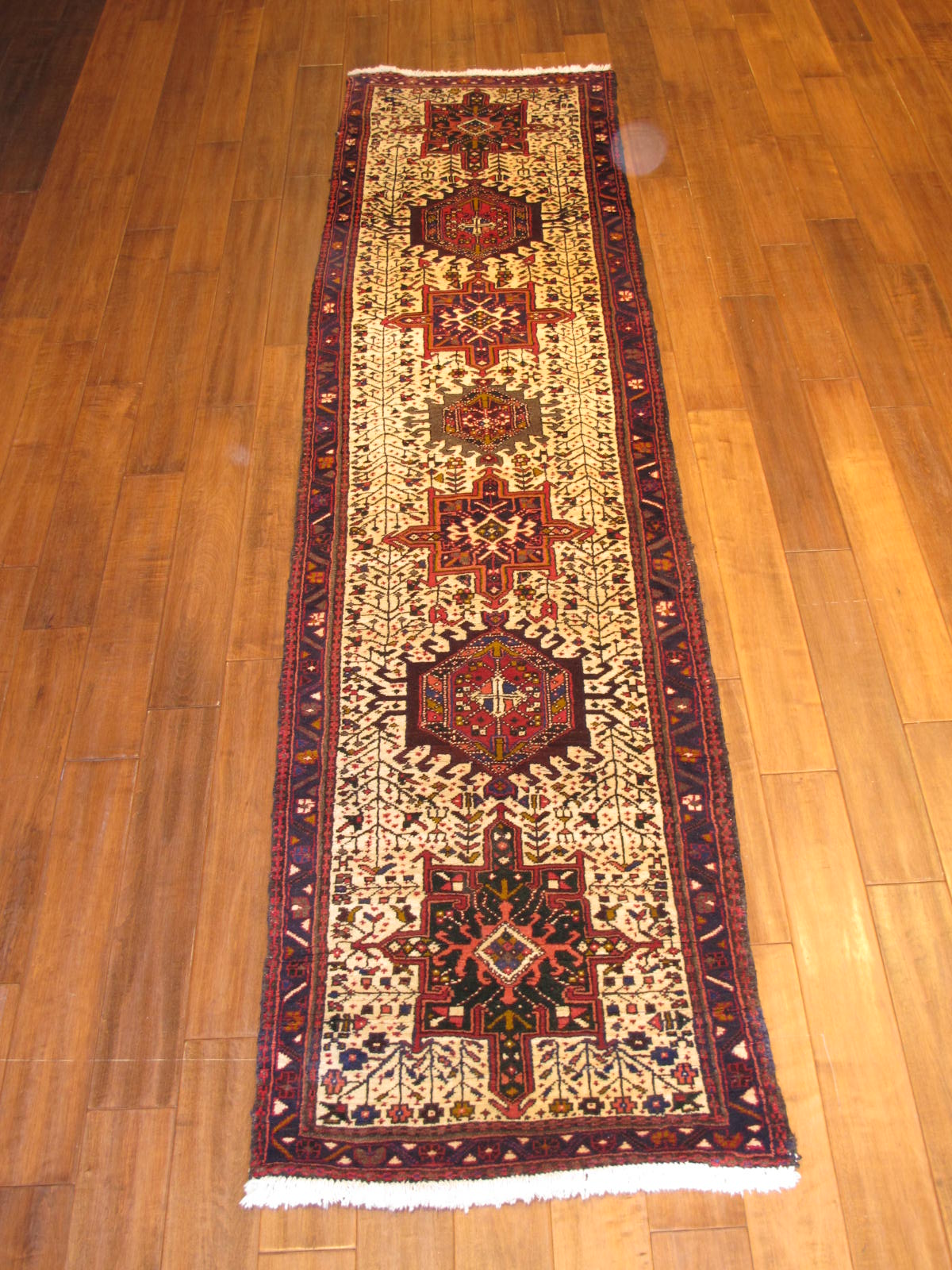 23663 Persian Heriz runner 2,6x9,10