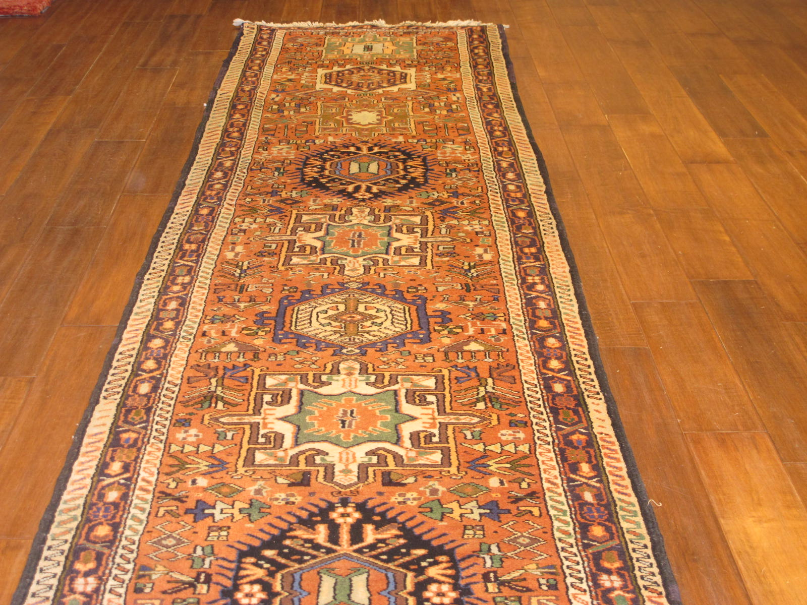 23666 Persian Karadja hall runner 2,9x15,5 (2)