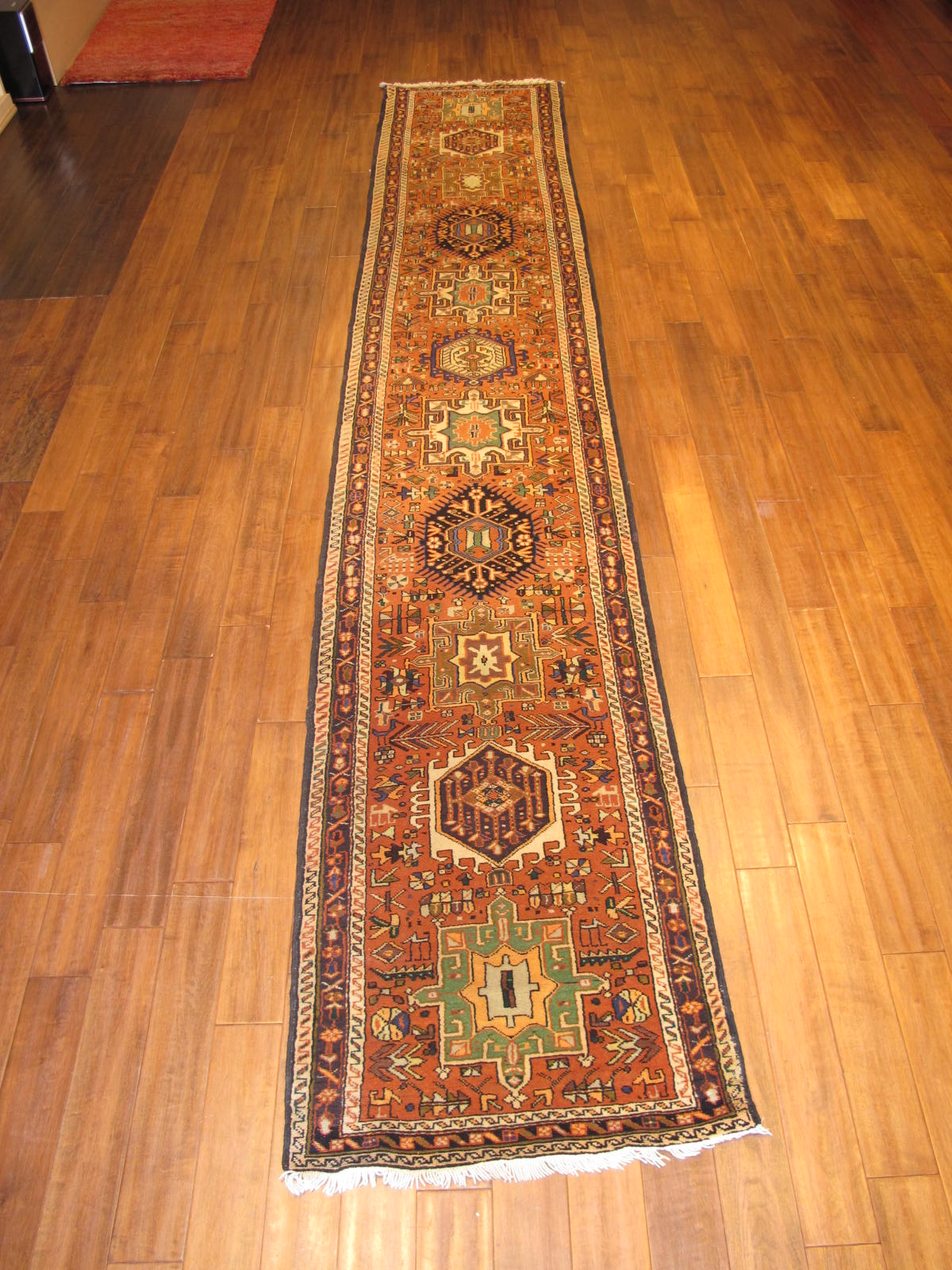 23666 Persian Karadja hall runner 2,9x15,5