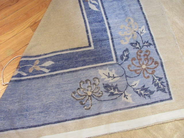 24934 Antique Chinese Peking carpet 14,9 x 26 -3
