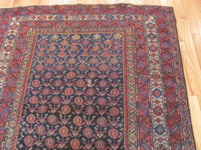 24935 Antique Persian Malayer rug 4,5 x 8,5 -1