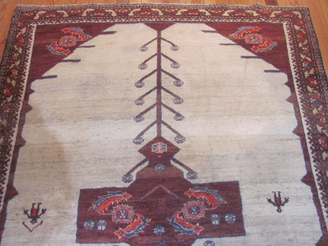 24950 Antique Persian Malayer rug 4,3 x 6,3 -1