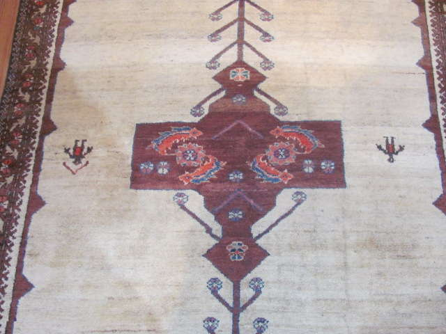 24950 Antique Persian Malayer rug 4,3 x 6,3 -2