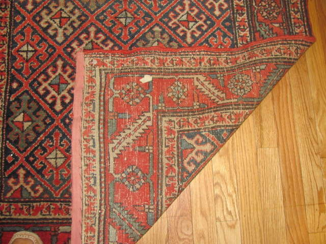 24955 Persian Heriz hall runner 3,4 x 13 -3