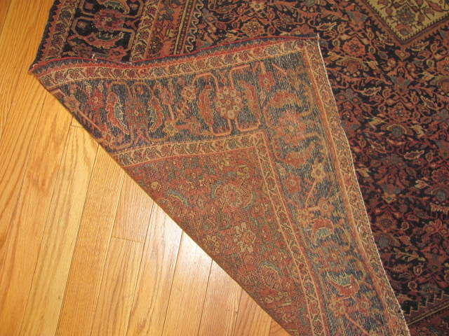 24958 Antique Persian Fereghan rug 4,4 x 6,7 -3