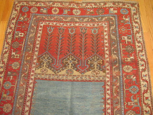 24967 Antique Anatolian Ladik rug   3,9 x 5,10 -1