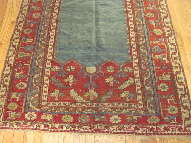 24967 Antique Anatolian Ladik rug   3,9 x 5,10 -2
