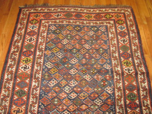 24970 Antique Kurd hall runner 3,11 x 11,1 -1