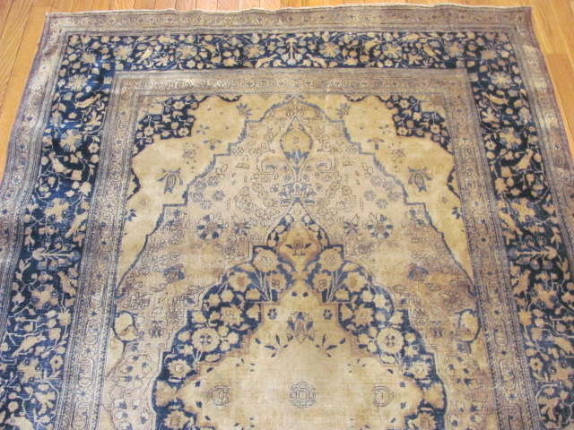 24985 Antique Persian Kashan Mohteshem rug  4,4 x 6,7 -1