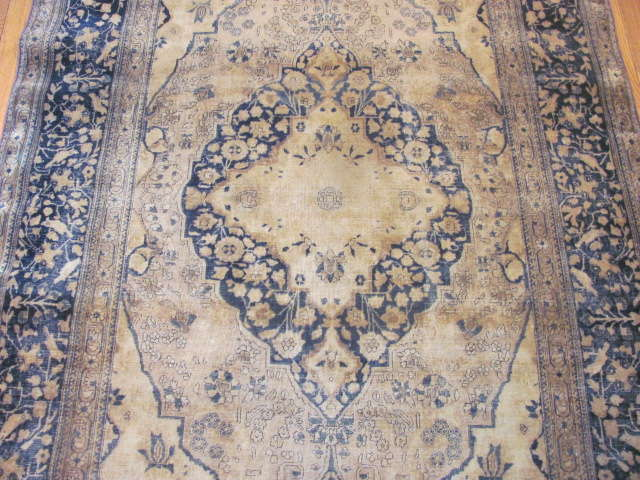 24985 Antique Persian Kashan Mohteshem rug 4,4 x 6,7 -2