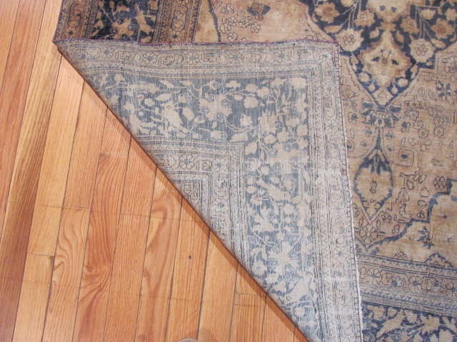 24985 Antique Persian Kashan Mohteshem rug 4,4 x 6,7 -3