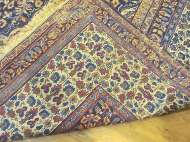 24986 Antique Persian Khorassan carpet 12 x 16,2-3