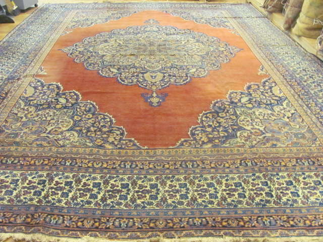 24986 Antique Persian Khorassan carpet  12 x 16,2