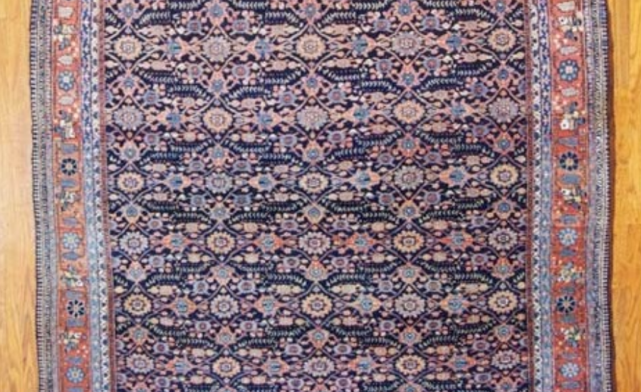 24987 Antique Persian Joshagan gallery carpet  6,10 x 16,10-1