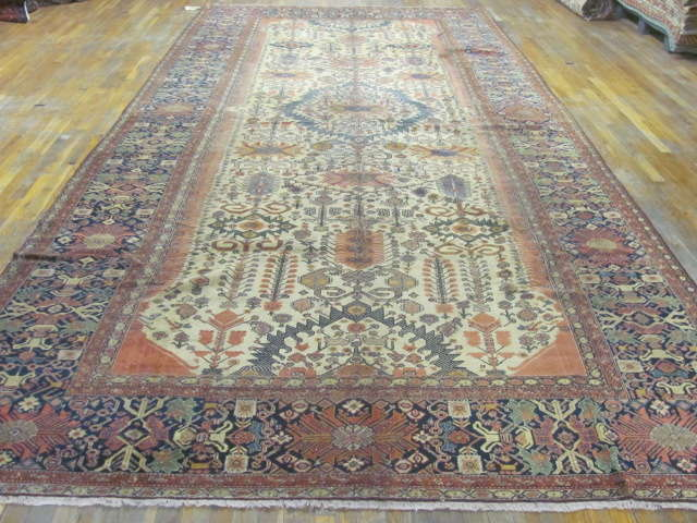 24993 Antique Persian Fereghan gallery 7,10 x 16,8