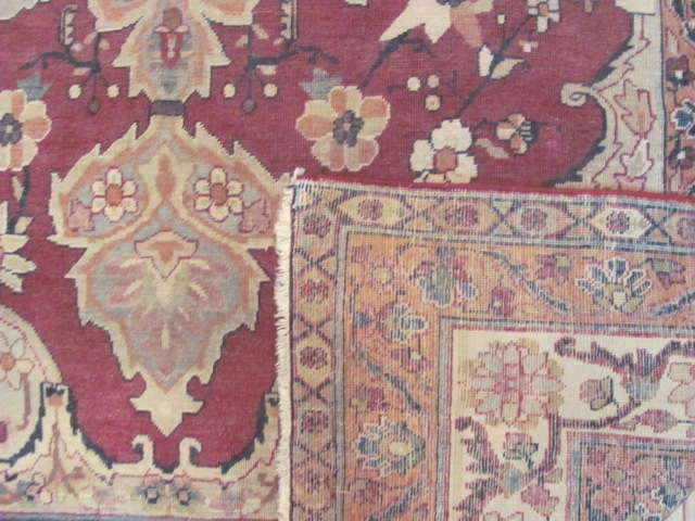 24995 Antique Persian Kirman Lavar rug  4,3 x 6,11 -2