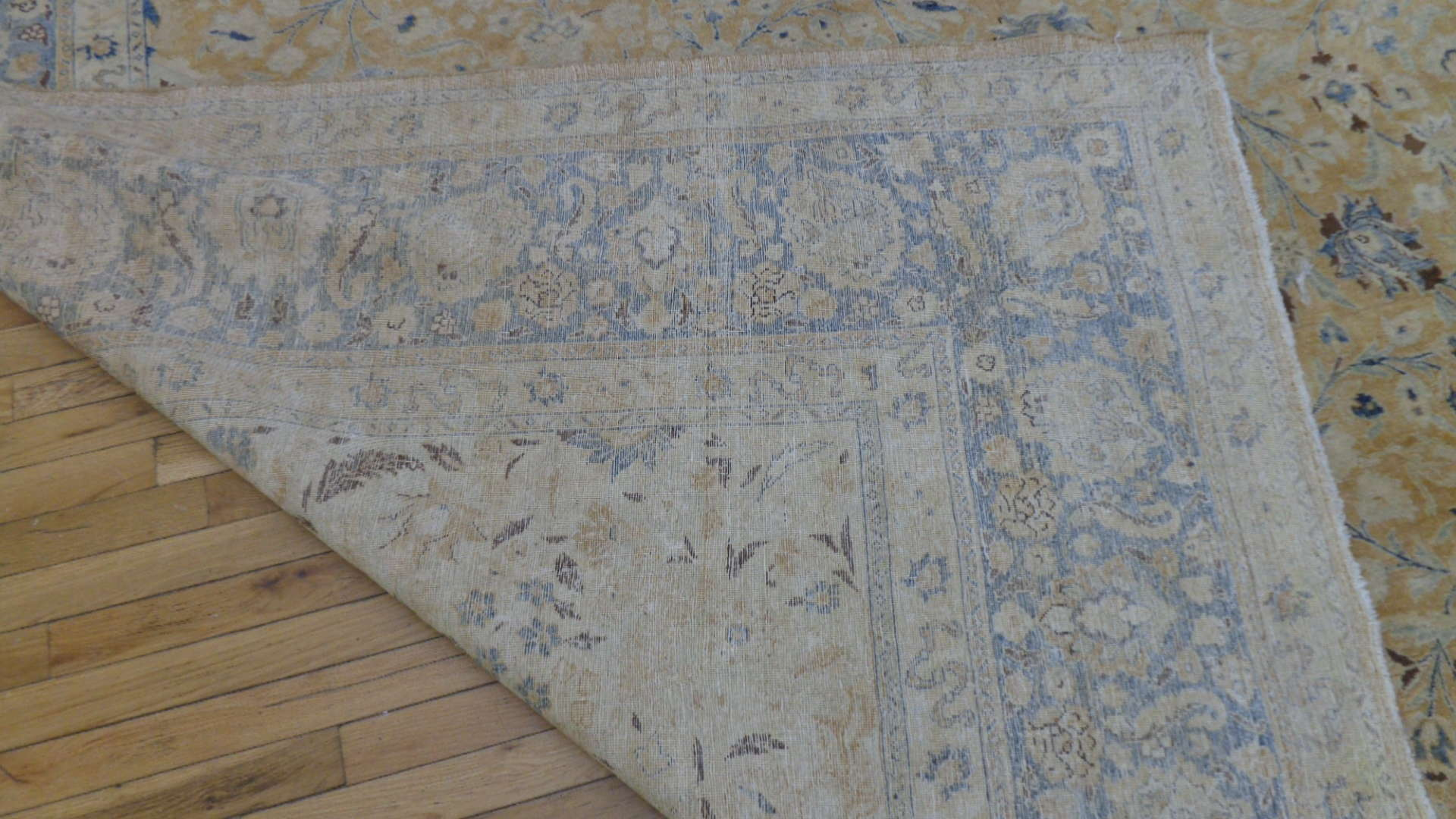 24997 Antique Persian Tabriz carpet  10,8 x 15,8 -3
