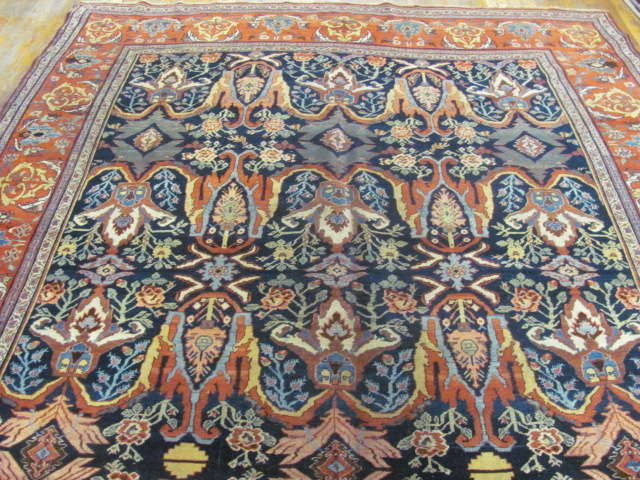 24999 Antique Persian Bidjar gallery 7,11 x 17,2 (2)