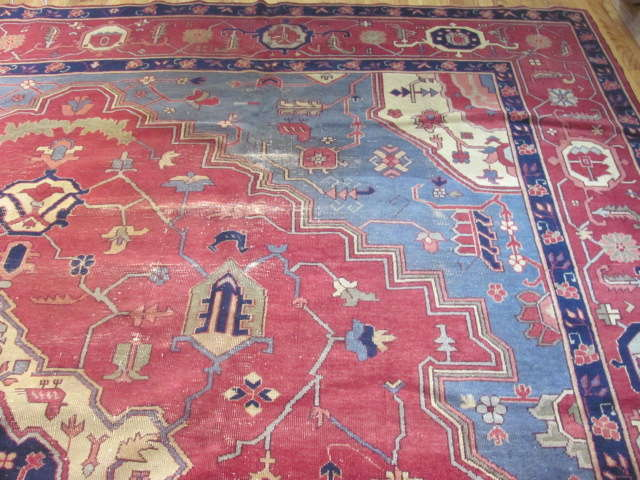 25007 Turkish carpet 12,4 x 15-1