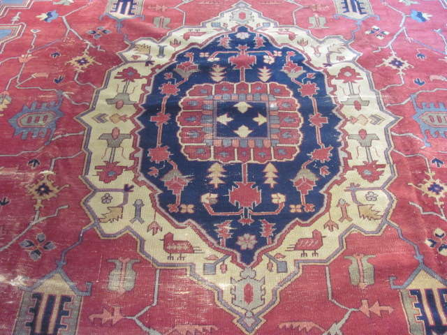 25007 Turkish carpet 12,4 x 15-2