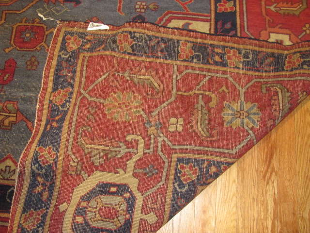 25007 Turkish carpet 12,4 x 15-3