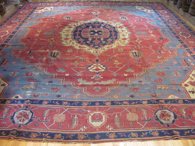 25007 Turkish carpet 12,4 x 15