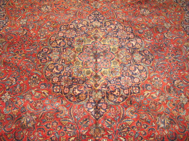 25015 Persian Kashan carpet 7,11 x 9,10-1