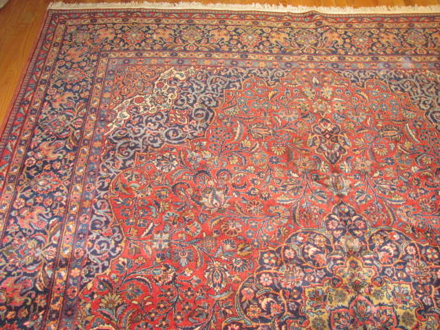 25015 Persian Kashan carpet 7,11 x 9,10-2